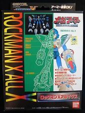 Japan Bandai Mega Man Rockman X All X Mega Armor Series Aru Ikusu Action Figure