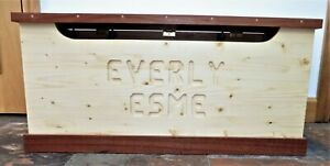 Child's Personalised Toy Chest/Personalised Wedding gift/Classic Storage chest
