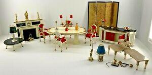 Vintage Ideal Dollhouse Petite Princess Furniture Mega Lot 30 Plus!