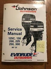 Johnson Evinrude 125C 130 200 225 250 300 90° LV Service Manual P/N 503152