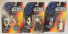 ~New~ Set Of 3 Star Wars Toy Men Figurines Collector Items Yoda Han Solo ~136~