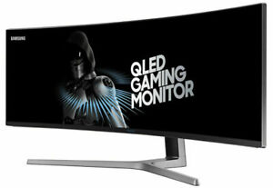 SAMSUNG CHG90 Series 49-Inch Curved Gaming Monitor (3840x1080) QLED HDR