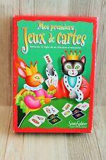 Mes premiers Jeux de cartes pour enfants - Sentosphère - avec des animaux