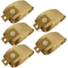 5 X U-2E, U20E, U20AB Bolsas de Vacío Para Panasonic MCE461 MC-E461 MC-E462 Hoover