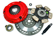 KUPP SPORT 4 CLUTCH KIT+RACE FLYWHEEL 97-00 AUDI A4 QUATTRO B5 VW PASSAT 1.8T