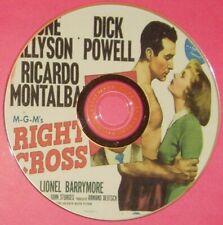 DRAMA 201: RIGHT CROSS (1950) June Allyson, Dick Powell, Ricardo Montalban