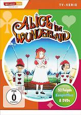 Gesamtbox ALICE IM WUNDERLAND komplette TV-Serie 52 EPISODEN 8 DVD Box EDITION