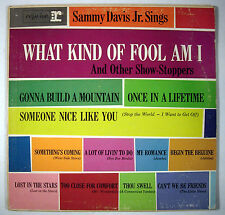 Sammy Davis Jr. Sings What Kind Of Fool Am I And Other Show-Stoppers - LP