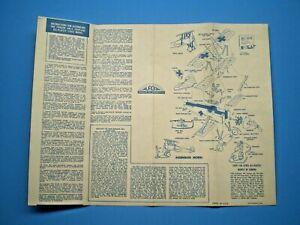 Aurora 1956 FOKKER DR-1 TRIPLANE Original Model  Instruction sheet L@@K!