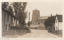 Postcard Sible Hedingham near Halstead Essex posted 1959 RP