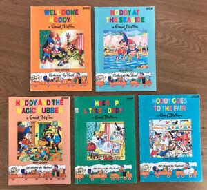 5 Enid Blyton NODDY New Edition BBC Paperback Books 1992