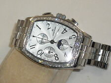 Alfred Hammel SWISS MADE MOON PHASE VALJOUX MOVEMNT APROX. 1.5 CTS DIAMONDS