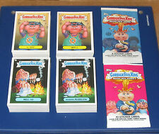 GARBAGE PAIL KIDS BNS1 & BNS2  COMPLETE SETS 1-128 A & B    256 TOTAL STICKERS