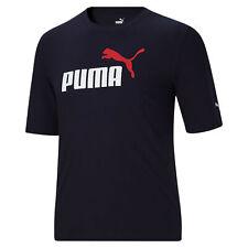 PUMA Men's Essentials 2 Logo Tee