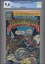 Captain Victory #2 CGC 9.6 1981 Pacific Comic Jack Kirby Story, Art & Cover