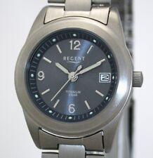 Regent Damen-armbanduhr Titan analog Quarz Titanband F-1168