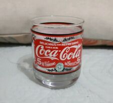 Coca-Cola Collectable Vintage Pattern Printed Glass