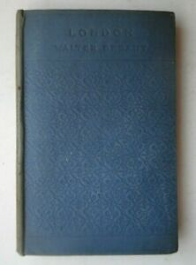 LONDON BY WALTER BESANT HB BOOK 1094 CHATTO & WINDUS