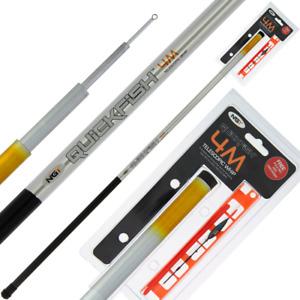 Carp Coarse Match Fishing Quickfish Travel Kids 4M Whip Pole Rig & Disgorger Set