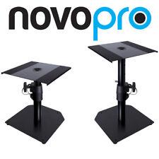 Novopro SMS50R Adjustable Studio Monitor Speaker Desktop Stands (Pair)
