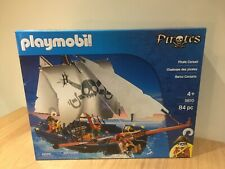 Playmobil 5810 Pirate Ship Boat Playset Complete Lots Of Accessories NEW Sealed