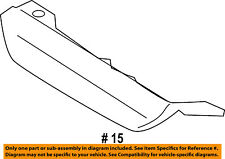 Lincoln FORD OEM 07-17 Navigator REAR BUMPER-Tow Bracket Cover 7L7Z17F000APTM