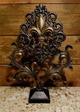 Fleur De Lis Finial, Standing, Home Decor, Tabletop Decorations, Office Decor