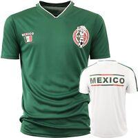 Mexico Soccer Jersey 2018 World Cup uniform Football team Player White Green Men