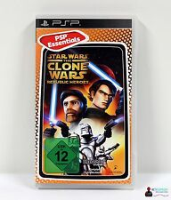 Playstation Portable PSP Spiel - STAR WARS THE CLONE WARS REPUBLIC HEROES