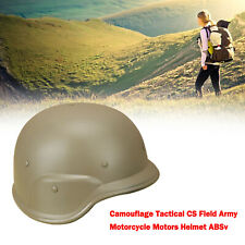 New listing Camouflage Tactical CS Field Army Motorcycle Motors Helmet ABS