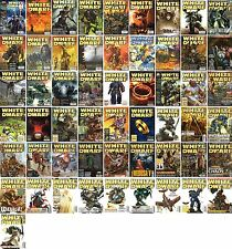 White Dwarf-Tabletop-Games Workshop Magazin-Herr der Ringe-Warhammer-deutsch-rar