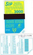SIDA TERZO GRUPPO -87-09-- P10AA -1062-BILINGUE DA 3000 NUOVA  LOTTO 248 FOTO
