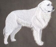 Embroidered Long-Sleeved T-shirt - Great Pyrenees C9601 Sizes S - XXL