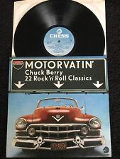 Chuck Berry - Motorvatin 22 Rock n Roll Classics (Greatest Hits) Vinyl LP Chess