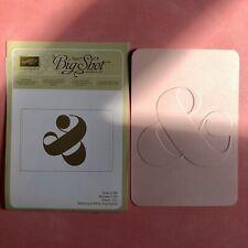 Stampin Up Sizzix Prägeform & Zeichen; Hochzeit; Embossing Folder; selten