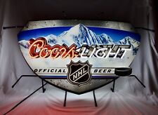 Coors Light Offical Nhl Neon Beer Sign