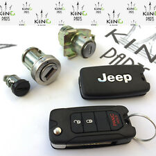 JEEP RENEGADE - KEYS SET REMOTE 2 KEY 3 BUTTON IGNITION SWITCH KEY - PANIC HOLD!