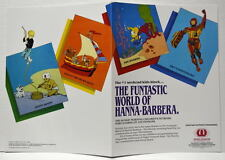 Hanna Barbera Style Guide Promo Folder- Jonny Quest Rare Original Worldvision
