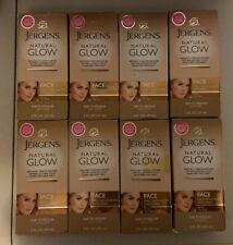 (8) Jergens Natural Glow Facial Moisturizer Fair-Medium Skin READ DESCRIPTION