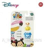 Disney TSUM TSUM Toy Series #4 3-Pack Figures: Lucky - Dumbo - Mickey