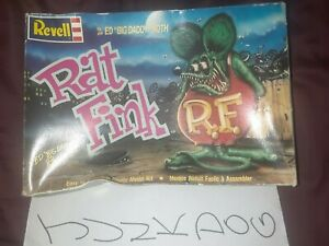 1990 Revell Rat Fink Ed Big Daddy Roth Model Kit Opened Box Mint Pieces