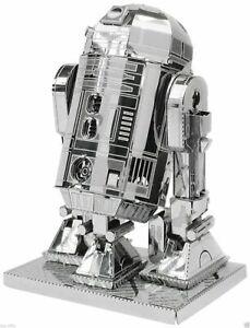 METAL EARTH STAR WARS 3D METAL MODEL KIT OF R2 D2