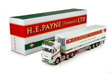 """Tekno HE Payne Volvo FH4 Globetrotter XL """"Low Cab"""" with 3-axle Fridge Trailer"""