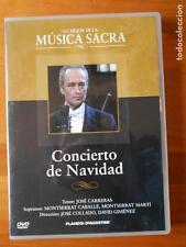 DVD CONCIERTO DE NAVIDAD - JOSE CARRERAS - MONTSERRAT CABALLE (R3)