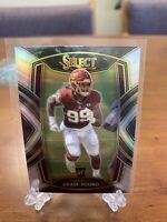 2020 PANINI SELECT CHASE YOUNG SILVER PRIZM REFRACTOR ROOKIE CLUB LEVEL SSP 🔥