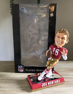 "JOE MONTANA San Francisco 49ers NFL ""Legend of the Gridiron"" Bobblehead NIB!"