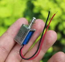 Micro Solenoid Valve Dc Electromagnet Dc 6v 12v 9v Push Pull Suction Rod Magnets