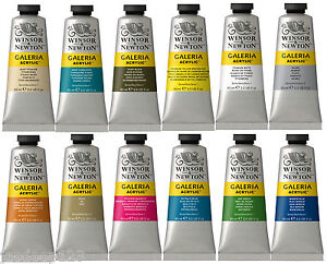 60ml Winsor & Newton Galeria Acrylic Paints Tube High Quality Art Supplies Colou