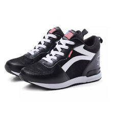 Summer Gauze Lace Up Women Sneaker - Black (XYG062984)