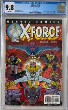 X-Force #116 CGC 9.8 1st appearance of U-Go Girl, Anarchist & Doop!L@@K!
